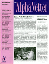 August 1999 Newsletter