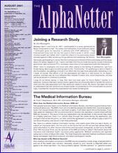 August 2001 Newsletter