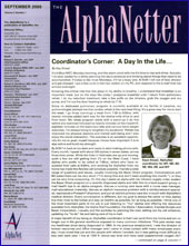 September 2001 Newsletter